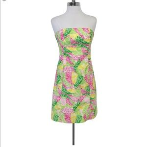 Lilly Pulitzer Franco Multi Wing Ding Rare Print